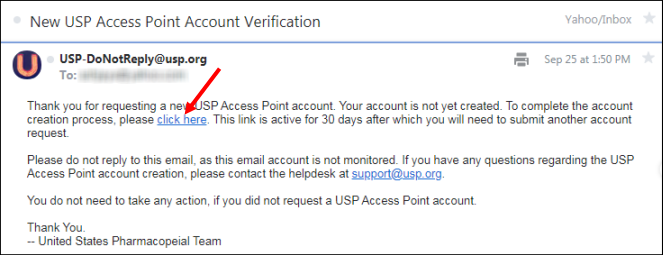 The activation link sent in the email is valid for 30 days. An example  email is shown below  6e5e63c5d2